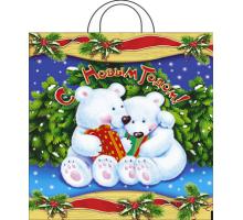 """ПТЛ-ПНД 38х42 40мкм """"Белые медведи"""""""